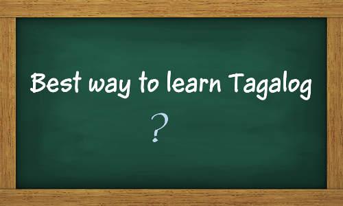 Best Way To Learn Tagalog - WebKajian
